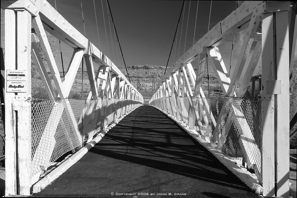 Historic Dewey Bridge, Utah