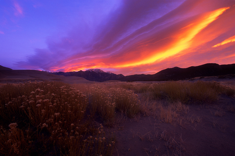Sangre de Christo Sunrise, Great Sand Dunes National Park & Preserve, Colorado