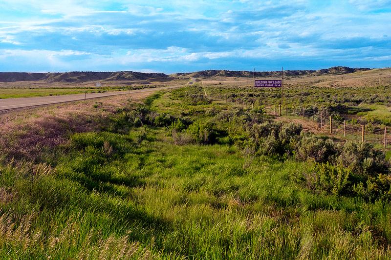 Highway 13, Wyoming-Colorado State Line (2014)