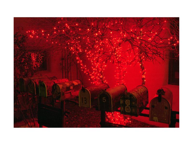 Christmas Lights, Santa Fe, New Mexico (2013)