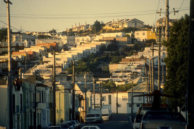 San Francisco, California, Kodachrome 35mm silde film