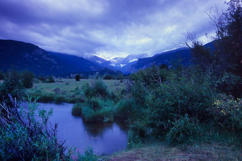 Blue Hour Journal: Moraine Park, Rocky Mountain National Park, Colorado