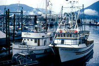 Fishing Boats, Petersburg, Alaska (1984)