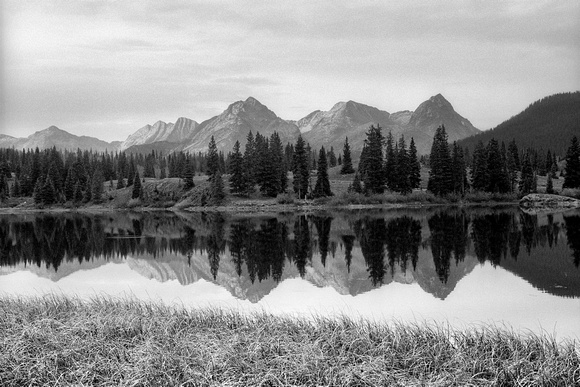 Grenadiers Reflected in Molas Lake, San Juan Range, Colorado
