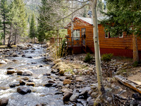 Cabin on the River, Allenspark, Colorado