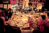 Pike Street Market, Seattle (1984)