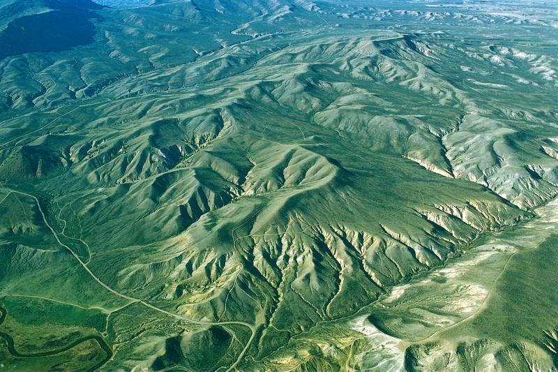 Aerial photographs of Colorado; western slope, Kremmling area