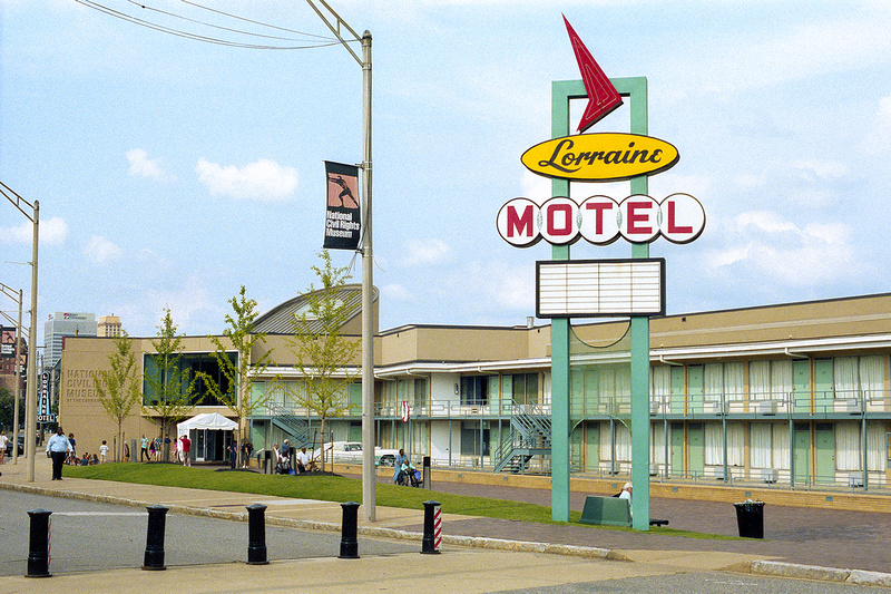 Lorraine Motel, National Civil Rights Museum, Martin Luther King Jr., Memphis, Tennessee