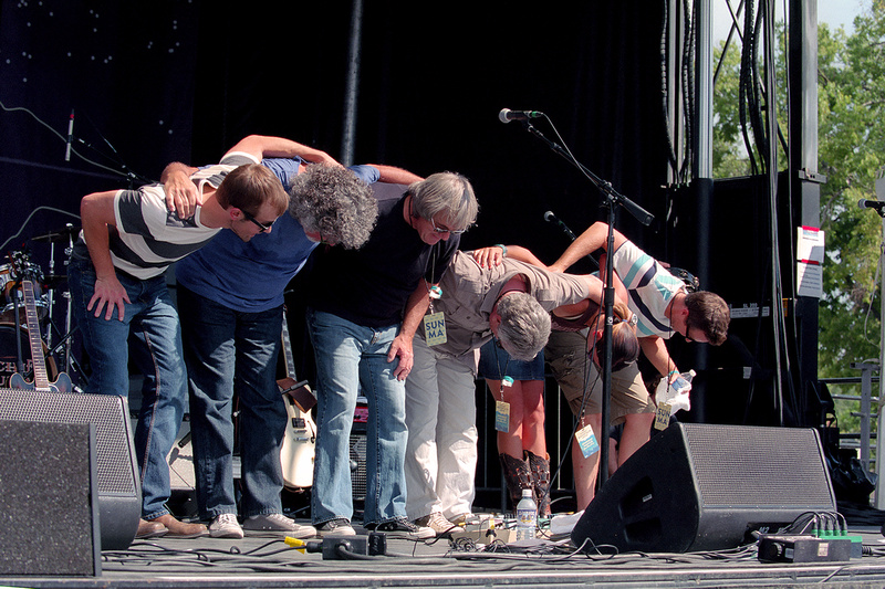 The Richie Furay Band, taking a bow at New West Fest (2014