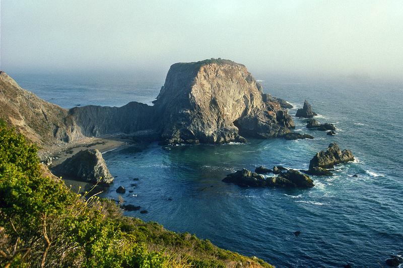 Kodachrome, 35mm slide film, California Coast