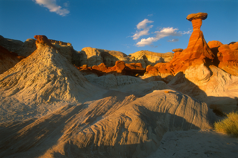 Toad Stools, Grand Staircase, Escalante National Monument, Utah.