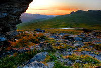 First Light at Rock Cut No 3, Rocky Mountain National Park, Colorado